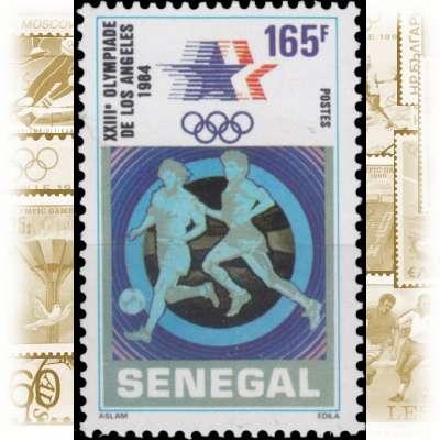 Embmv Briefmarken Afrika Senegal Und Olympische Sommerspiele